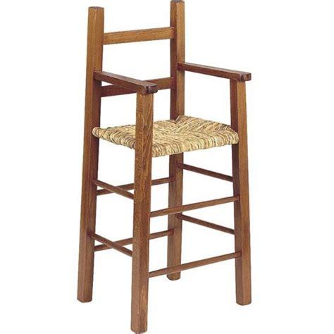 chaise haute pour enfant chaise haute enfant bois fonc 233 la vannerie d aujourd hui