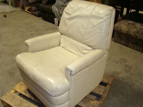 used reclining chairs rv furniture used rv motorhome furniture ivory leather
