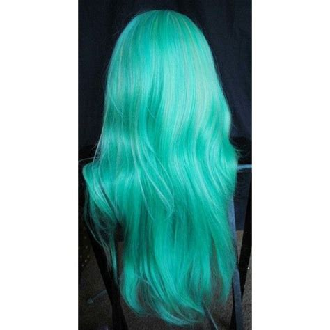 mint green hair color 17 best ideas about mint green hair dye on