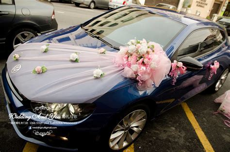 Wedding Car Decoration. Car