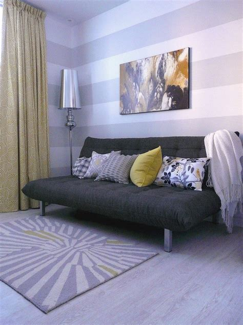 Futon Guest Room by 20 Ways To Get More Space Out Of A Small Condo