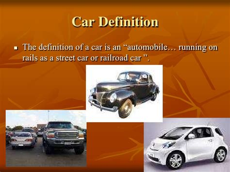 design vehicle definition the evolution of the automobile