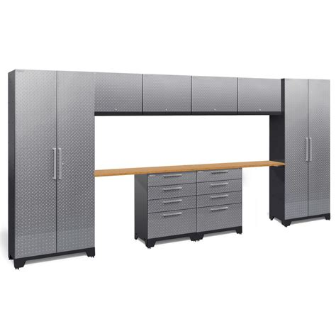 Plate Garage Cabinets by Newage Products Performance Plate 2 0 72 In H X