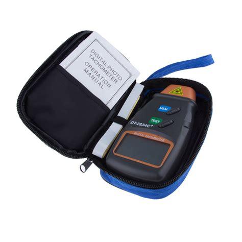 Digital Photo Tachometer Dt 2234c by Lcd Digital Laser Photo Tachometer 2 5 100000 Rpm Dt
