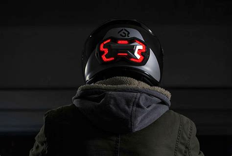 motocross helmet light introducing the helmet brake light visordown