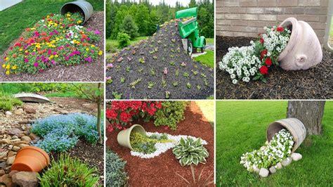 diy garden 100 most beautiful spilled flower pot ideas diy garden