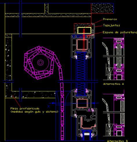 persiana dwg bibliocad vip descargar archivos gratis detalle de puerta