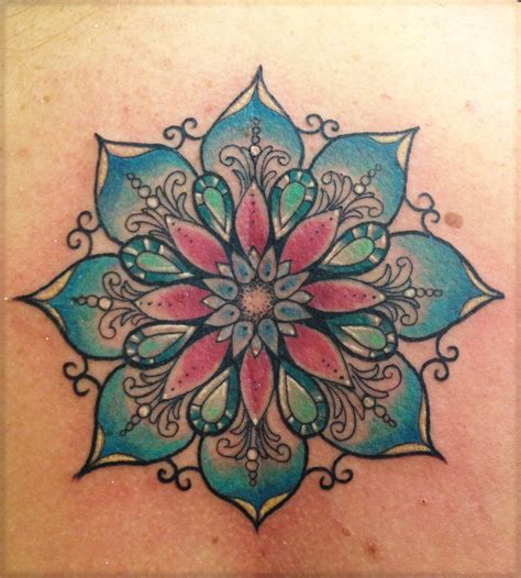 mandala tattoo designs lotus mandala on mandala lotus