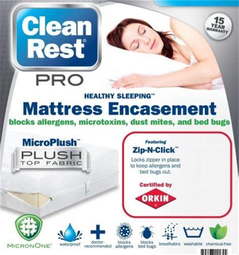 Clean Rest Mattress Encasement clean rest mattress encasement mattress pads