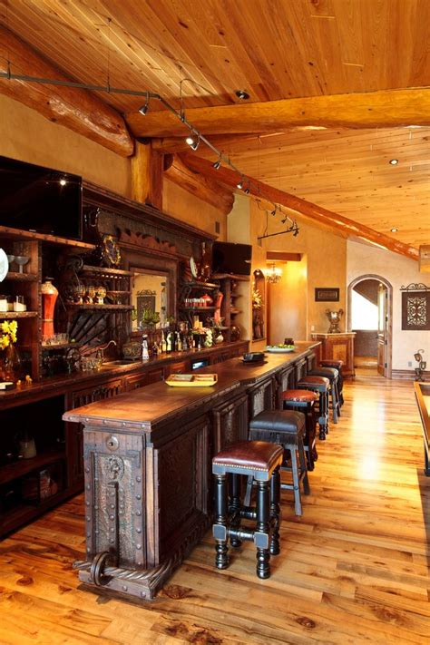 home pub decor irish pub style bar home bar traditional with wood floors