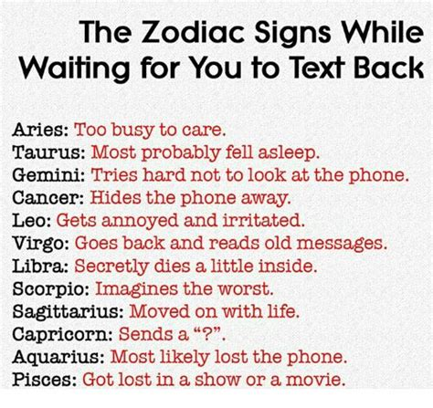 zodiac signs  signs  waiting    text