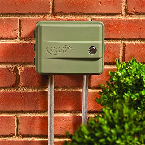 timer swing orbit 57899 9 station outdoor swing panel sprinkler system