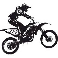 Wall Stickers Boy dirt bike silhouette clipart china cps