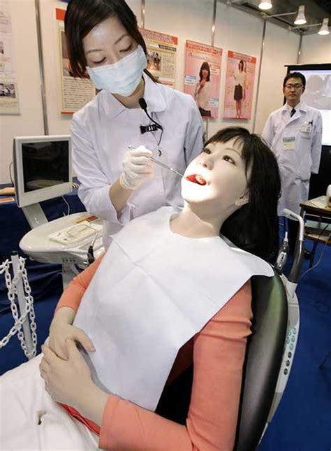 japans latest invention  dental training robot