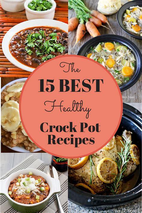 healthy recipes crockpot