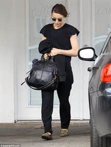 Mens Daily Bag Greenlight rooney mara spices up black ensemble with leopard print