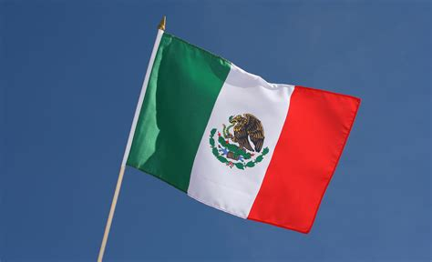 flags of the world mexico hand waving flag mexico 12x18 quot royal flags