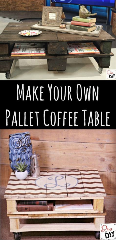 make a pallet coffee table how to make a pallet coffee table