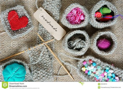 Handmade Hobby - handmade knit knitting hobby lovely creatve stock