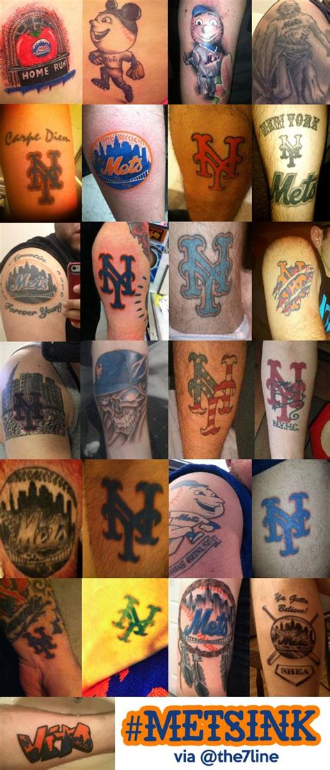 ny mets tattoo mets ink new york mets tattoos nails hair