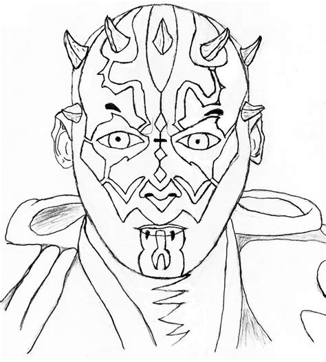 angry birds star wars darth maul coloring pages coloring