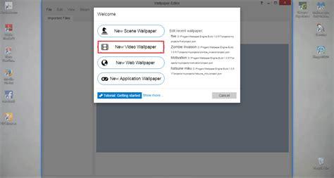 wallpaper engine taskbar tutorial cara menambahkan video dalam wallpaper engine