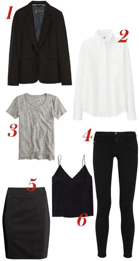 Basic Wardrobe Items by The 6 Clothing Pieces You Can Repeat Without Anyone Noticing Rounding Clothing Items And Classic