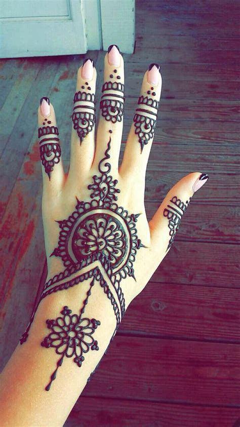 simple hand henna tattoos tumblr best beautiful finger henna designs fashion