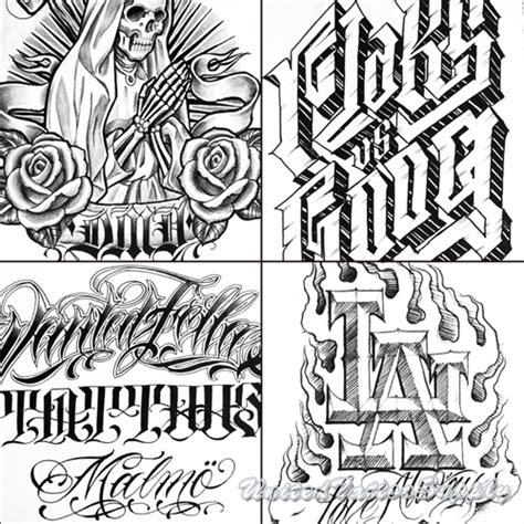 tattoo lettering books flaks vs boog the 48 killabo script lettering