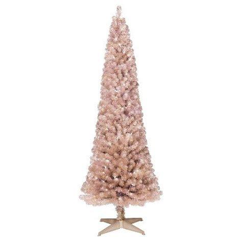 rose gold christmas lights 6ft pre lit artificial christmas tree slim rose gold