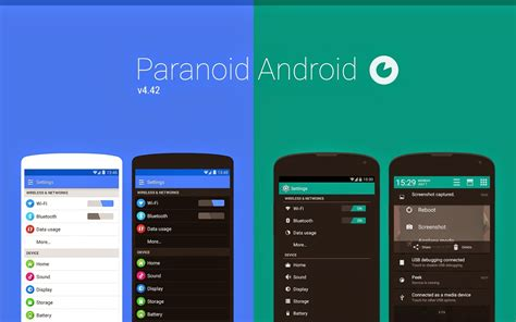 now with android 44 aokp paranoid android roms and paranoid android android community