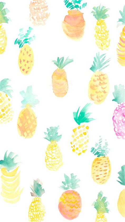 Iphone Wallpaperhard Caseiphone Casesmua Hp pineapple pattern more fruity iphone wallpapers and backgrounds at