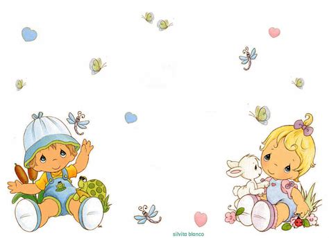 Precious Moments Baby Shower by The Gallery For Gt Baby Border Png