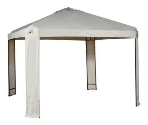argos gazebos and garden awnings 3m x 3m frame only argos single tier patio gazebo