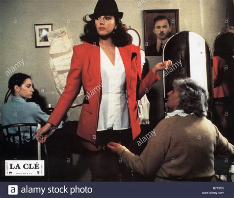 action tinto brass stefania sandrelli directed by tinto brass stock photo