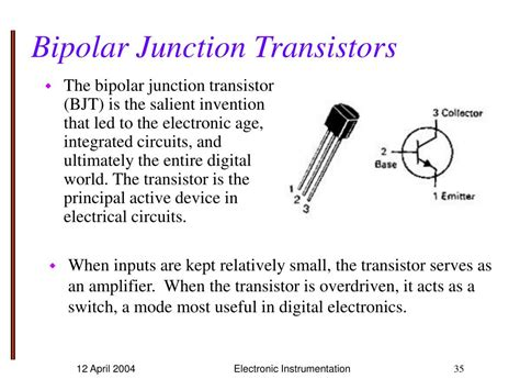bipolar transistor explained ppt experiment 10 powerpoint presentation id 532410