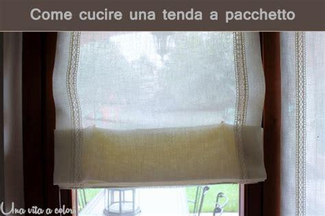 come cucire una tenda a vetro tutorial come cucire le tende a pacchetto