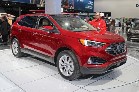 2019 Ford Production Schedule by Ford Edge Facelift 2018 Test St Motoren Preis