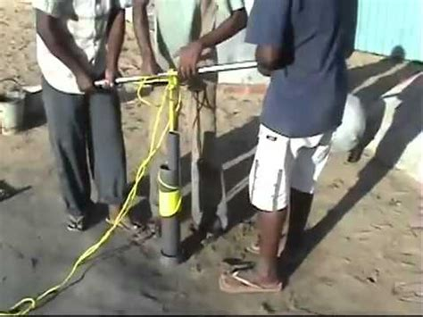 how to drill your own water well 3 youtube