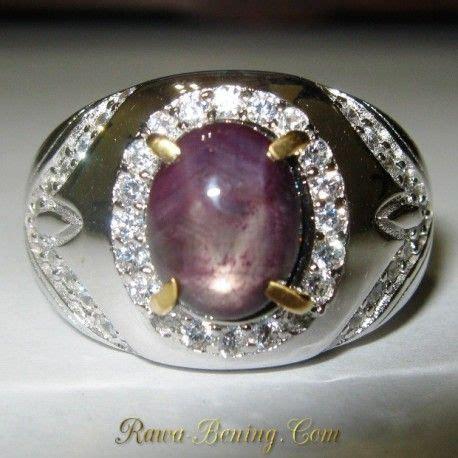 Cincin Batu Permata Rubby Ring Perak cincin ruby pria silver ring 9 us silver ring
