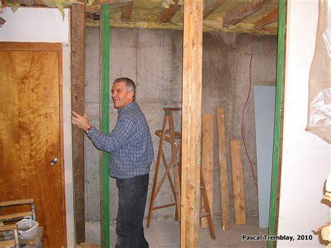 construction chambre froide construire une chambre froide au sous sol guide plan de