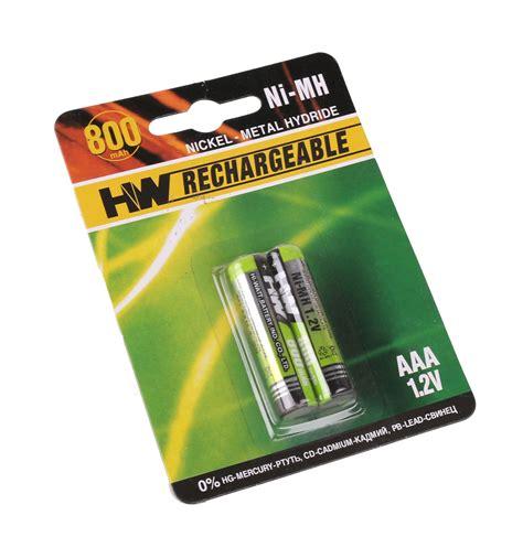 Bat Log In Aaa 1 2v Ni Mh 1200 Mah 1 2v aaa rechargeable battery 2 pack 800mah ni mh