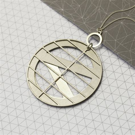 design milk necklace modern jewelry inspired by architect louis kahn design milk