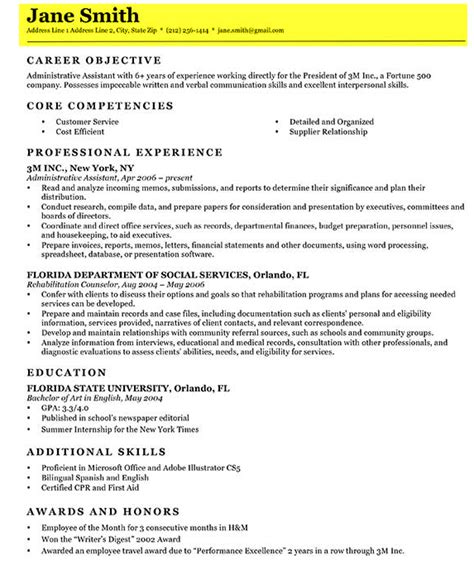Write A Resume by How To Write A Great Resume The Complete Guide Resume