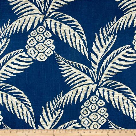 Impresive Canvas Shade Navy custom 30 pineapple fabric design decoration of pineapple