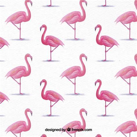 watercolor flamingos pattern vector free download flamingo animal vectors photos and psd files free download