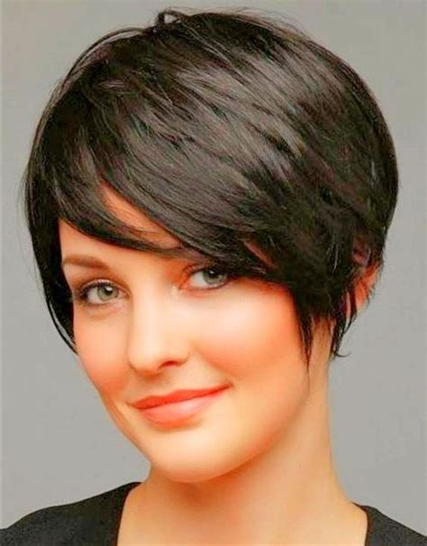hairstyles for fat faves thick hair pixie cuts for round faces pixie cut for round faces