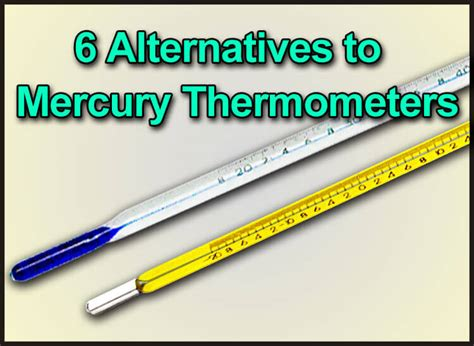 Termometer Hg 6 alternatives to mercury thermometers gilson co