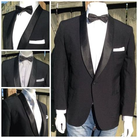 picture of 1950s prom tuxedo vintage 1950 s men s tuxedo jacket retro satin shawl