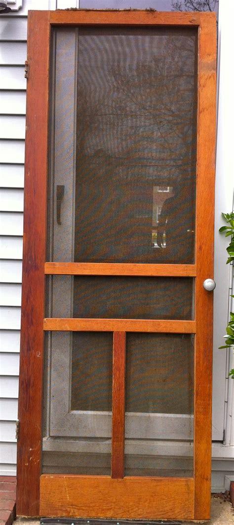 wooden screen door   home pinterest
